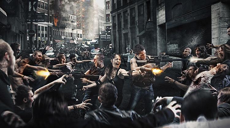 La invasión de zombies