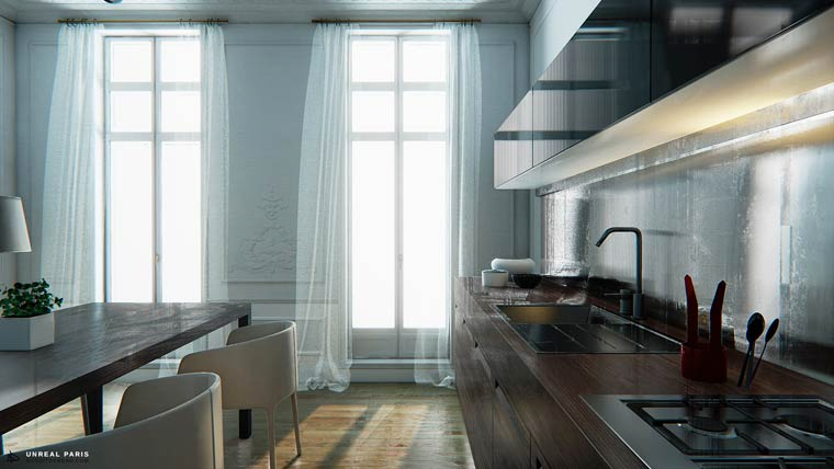 apartamento-paris-unreal-engine-5