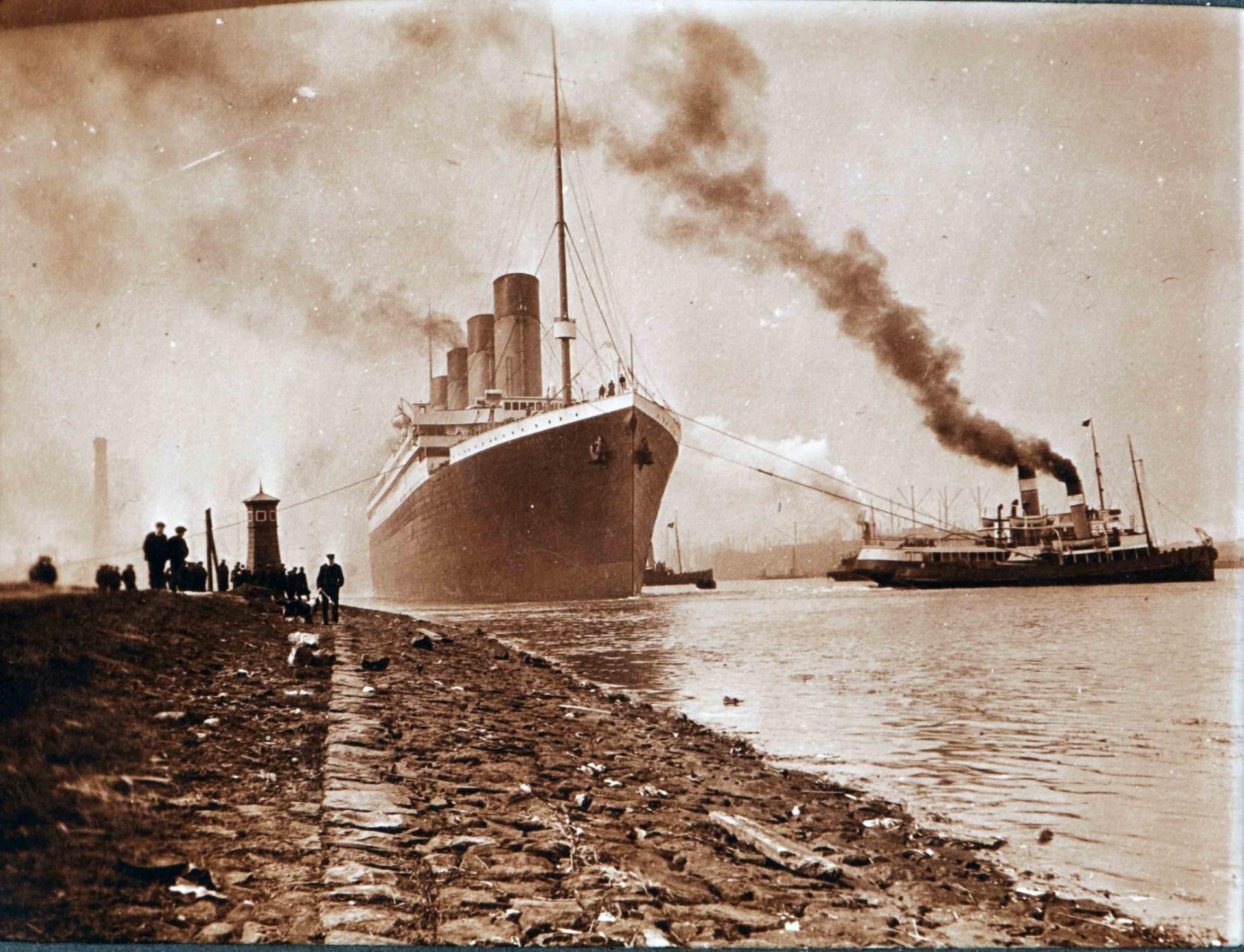 Botadura Del Titanic En Belfast, Las Imágenes Nunca Vistas Antes