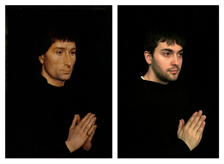 Las alucinantes (y divertidas) recreaciones de pinturas famosas de Chris y Francesco