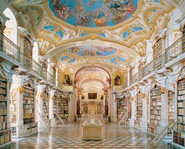 Biblioteca Admont Abbey, Austria