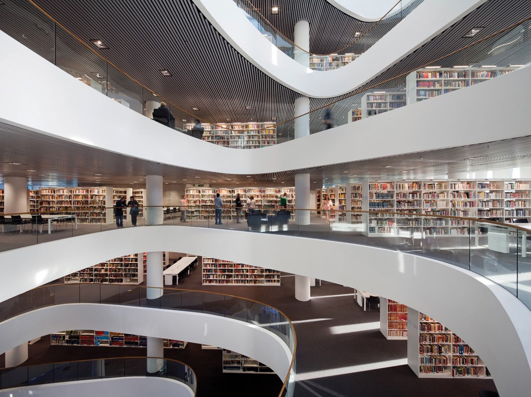 Biblioteca Sir Duncan Rice, Universidad of Aberdeen, Reino Unido