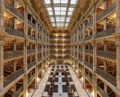 Fotografía Del Día: Interior De La Biblioteca George Peabody De Baltimore