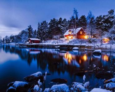 25 casas solitarias perdidas en majestuosos paisajes invernales. La #5 es maravillosa 1