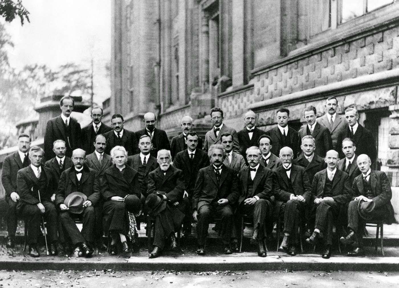Fotografía Del Día: El Congreso Solvay, La Fotografía Más Famosa (E Inteligente) De La Ciencia 1