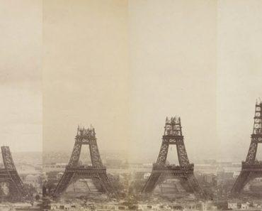 Las increíbles e insólitas fotos de la construcción de la Torre Eiffel 1