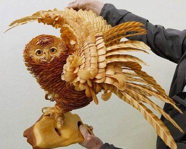 Estas Impresionantes Esculturas Hechas Con Trozos De Madera Te Dejarán Sin Palabras 2