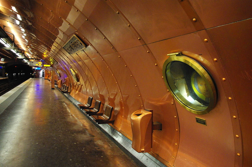 15 De Las Estaciones De Metro Más Bellas Del Mundo
