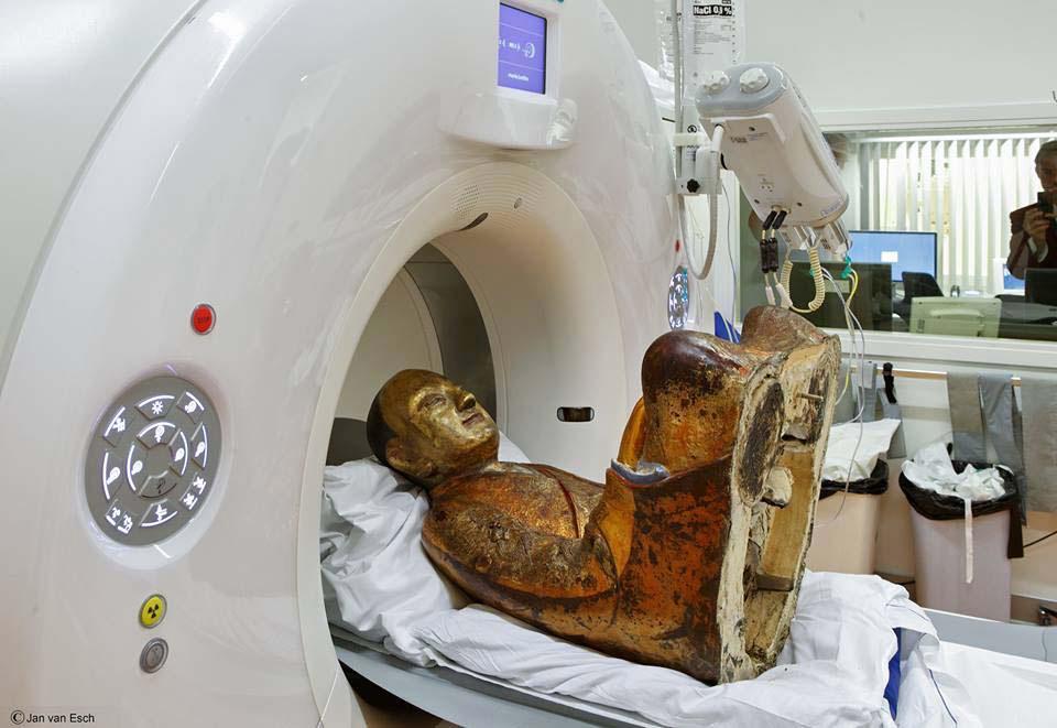 Un Escáner A Esta Estatua De Buda De 1.000 Años Revela Que Tiene Dentro Un Monje Momificado