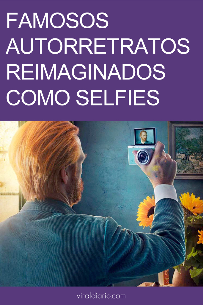 Famosos autorretratos reimaginados como selfies