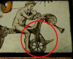 Sorprendente Hombre Desnudo En Bicicleta 150 Años Antes De Que Fueran Inventadas