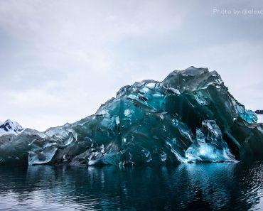 Fotografían Un Iceberg Como Nunca Se Había Visto. Algo Extremadamente Raro De Ver 1