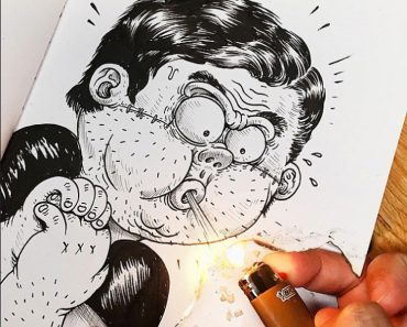 Las Alucinantes Y Sorprendentes Ilustraciones Que Luchan Con Su Creador 1