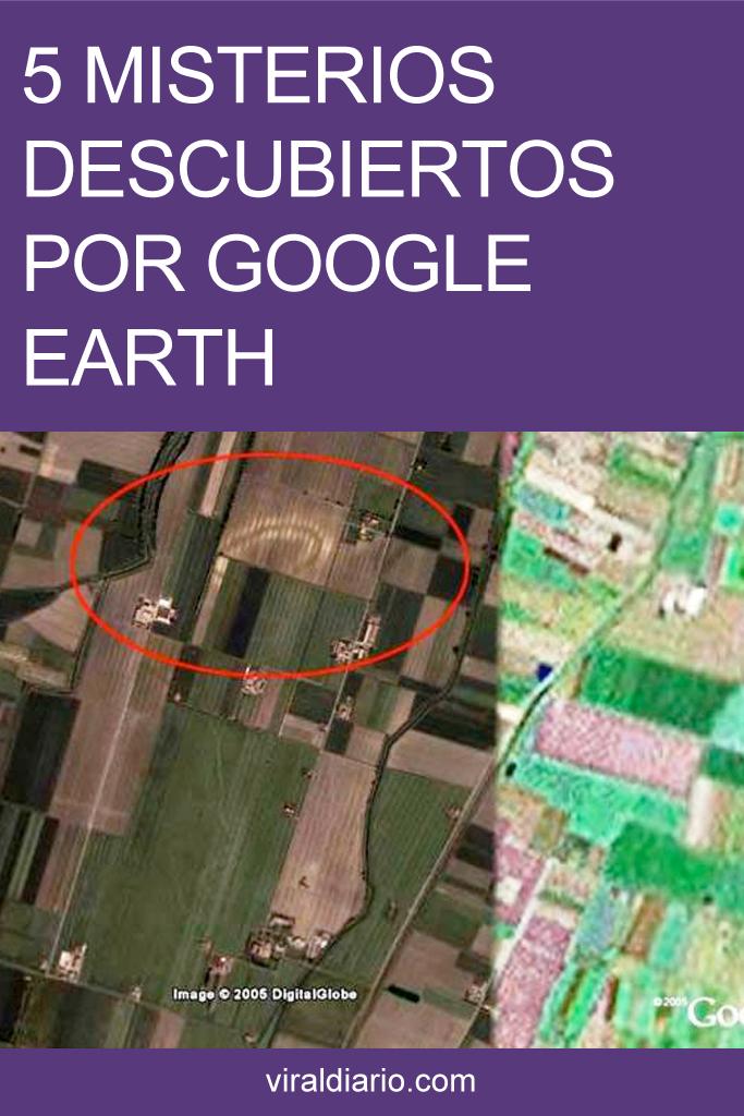 5 Misterios descubiertos por Google Earth