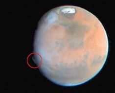 Esta Misteriosa Nube Que Ha Aparecido En Marte Desconcierta A Los Científicos