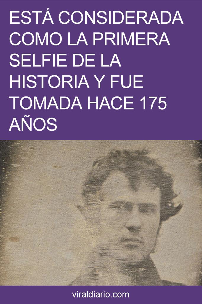Está considerada como la primera selfie de la historia y fue tomada hace 175 años