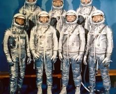 Fotografía Del Día: Los Primeros Astronautas De Estados Unidos