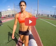 Espectacular Vídeo de la Saltadora Allison Stokke Grabado Con Una Cámara GoPro. ¡Tienes Que Verlo!