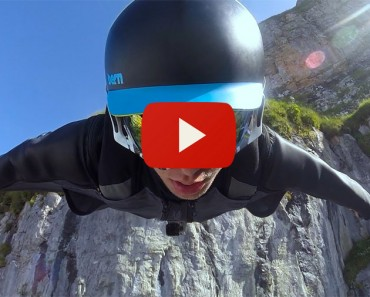 Este Vídeo De Un Salto Y Vuelo En Wingsuit Te Pondrá Los Pelos De Punta