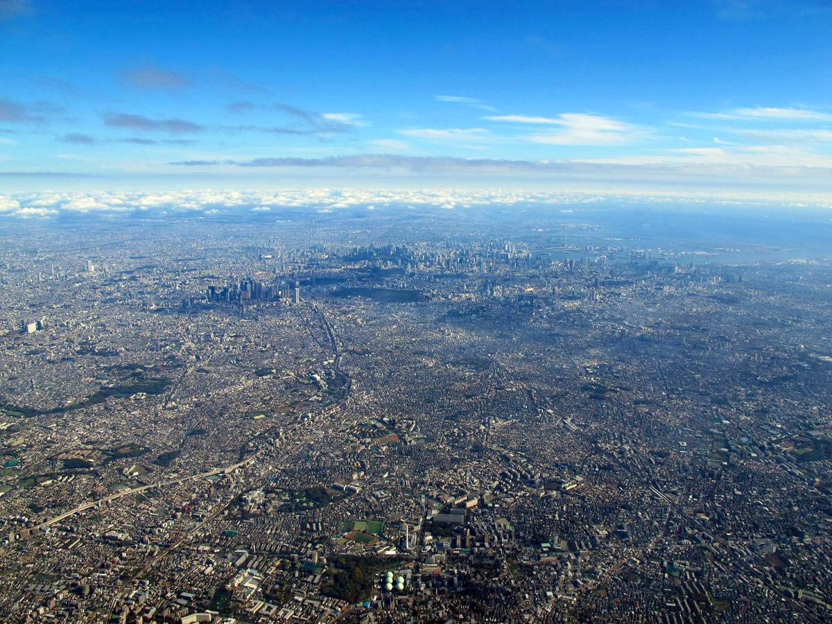 Fotografía Del Día: La Alucinante Metrópolis De Tokio Vista Desde El Aire 1