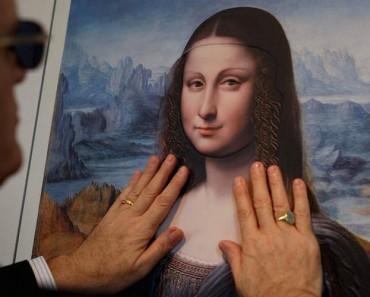 """Nueva tecnología de impresión permite """"ver"""" pinturas a los ciegos a través del tacto 1"""