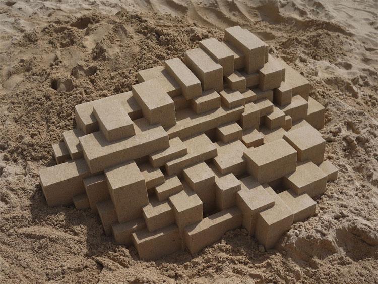 10 Castillos de arena inusuales... Construidos por una persona que no creerás la forma en que los hace