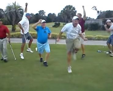 Estos Hombres Estaba Disfrutando De Un Partido De Golf, Pero Al Cabo De Unos Segundos Te Partirás De Risa