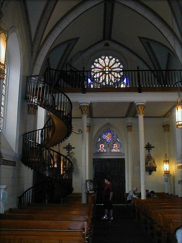 El Misterio De La Escalera De La Capilla De Loreto