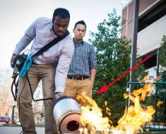 Estos brillantes estudiantes han inventado un revolucionario dispositivo para apagar fuegos