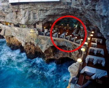 Ningún verano en Europa estará completo sin una cena en esta cueva del mar 1
