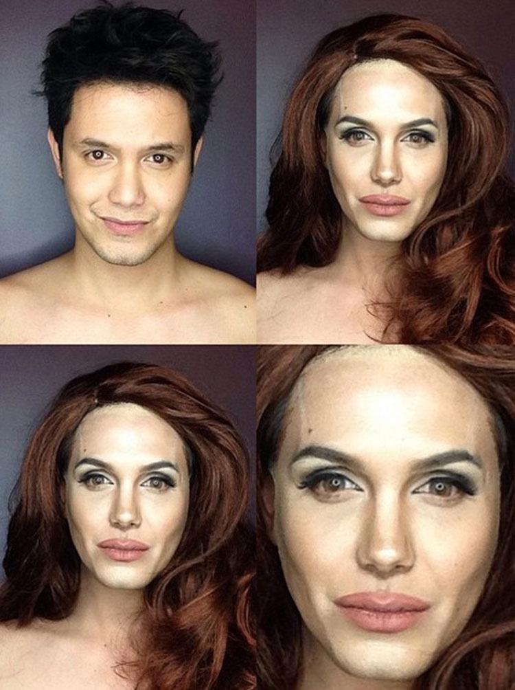 Este maquillador es tan bueno que puede transformarse EN CUALQUIER celebridad o famoso