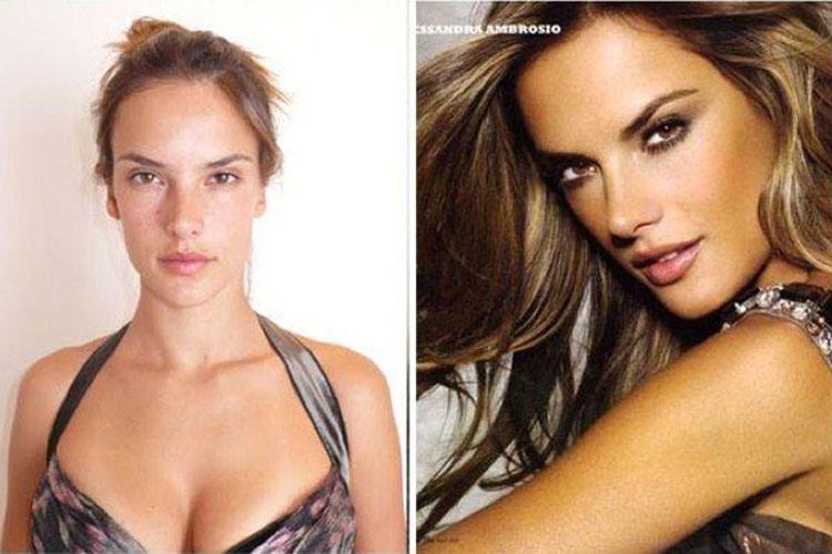 15 Modelos de Victoria's Secret sin ningún tipo de maquillaje. ¿TOP MODELS? 10
