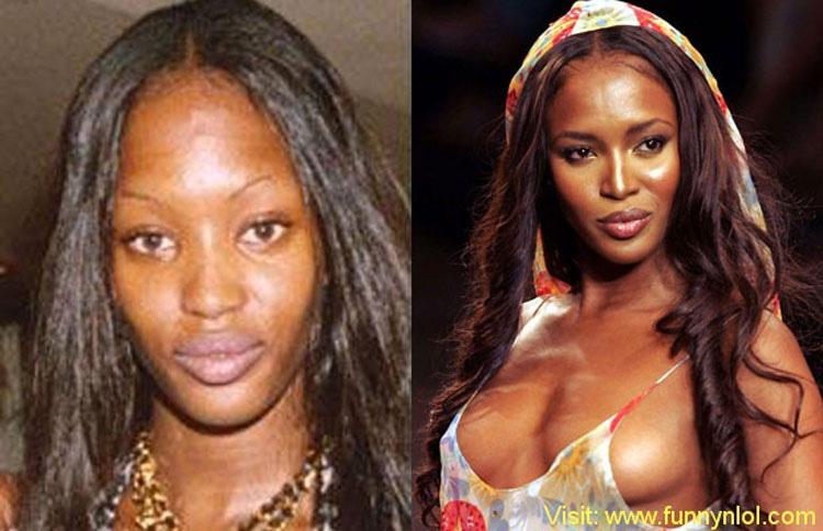15 Modelos de Victoria's Secret sin ningún tipo de maquillaje. ¿TOP MODELS? 12