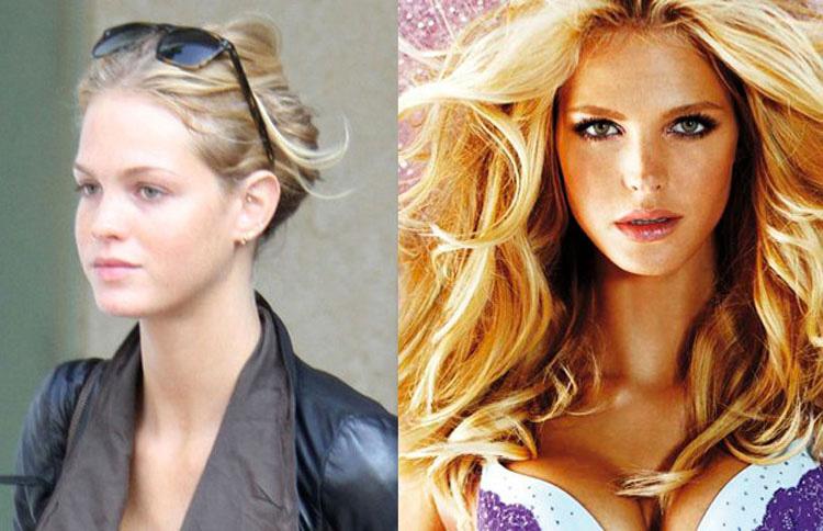 15 Modelos de Victoria's Secret sin ningún tipo de maquillaje. ¿TOP MODELS? 14