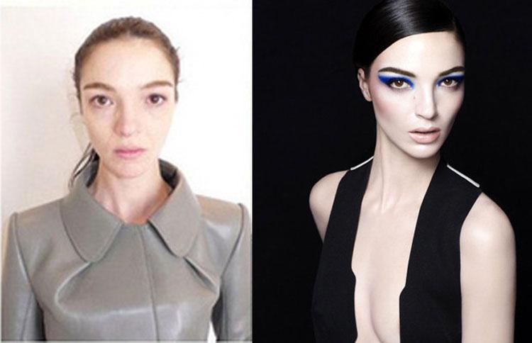 15 Modelos de Victoria's Secret sin ningún tipo de maquillaje. ¿TOP MODELS? 3