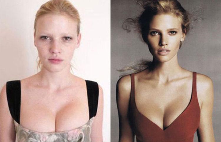 15 Modelos de Victoria's Secret sin ningún tipo de maquillaje. ¿TOP MODELS? 4