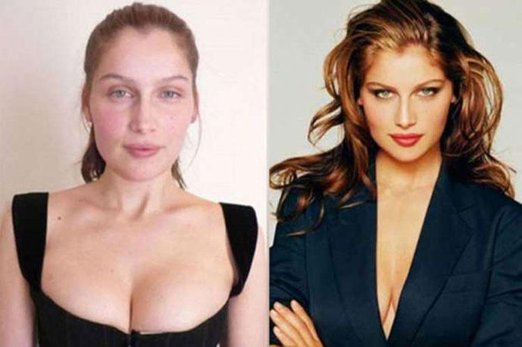 15 Modelos de Victoria's Secret sin ningún tipo de maquillaje. ¿TOP MODELS? 8