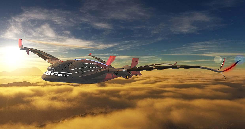 ¿Es este avión de tres cubiertas y cero emisiones el FUTURO de la aviación?