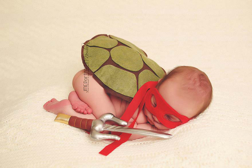 Estos 21 retratos de bebés son tan lindos que querrás abrazar la pantalla