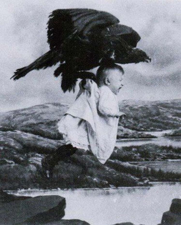20 espeluznantes fotos en blanco y negro que dan a la palabra 'PESADILLA' un nuevo significado