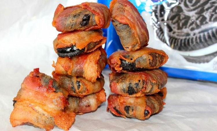 LLega la comida DIABÓLICA: galletas Oreo recubiertas de bacon. AQUÍ la receta