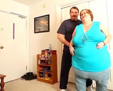 Ella pesa 190 kilos, ¿pero qué hace su marido con ella? ¡Estoy SORPRENDIDO!