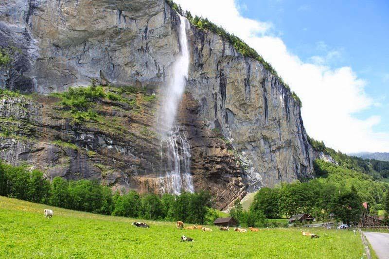 El desconocido valle de las 72 cascadas que te dejará sin palabras cuando lo veas