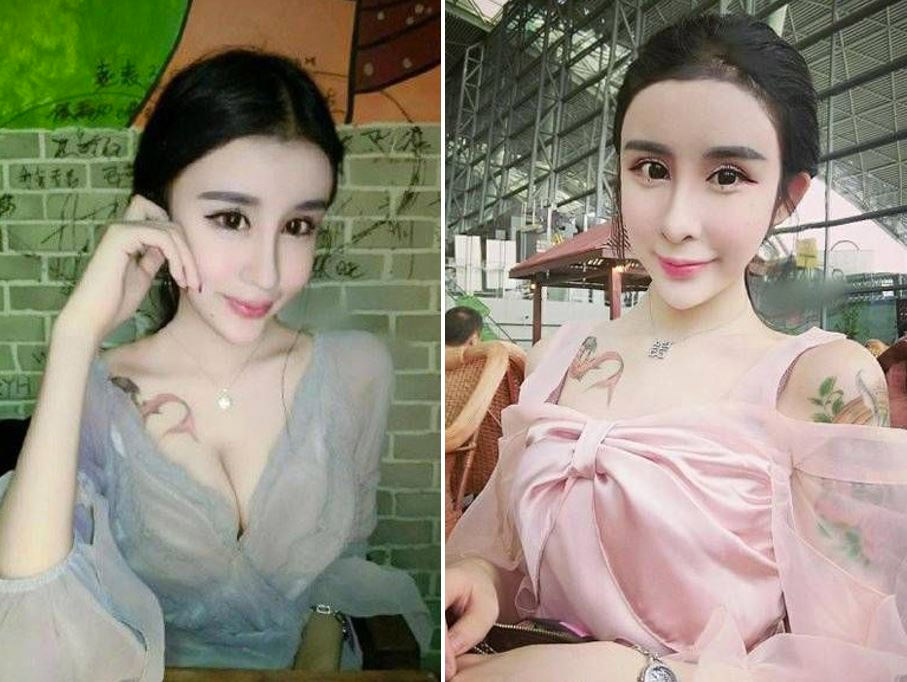 Esta niña china de 15 años se ha sometido a cirugía plástica extrema para parecerse a una muñeca