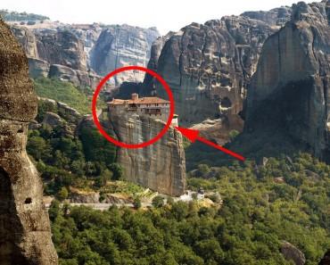 Los 5 monasterios más inaccesibles del mundo 1