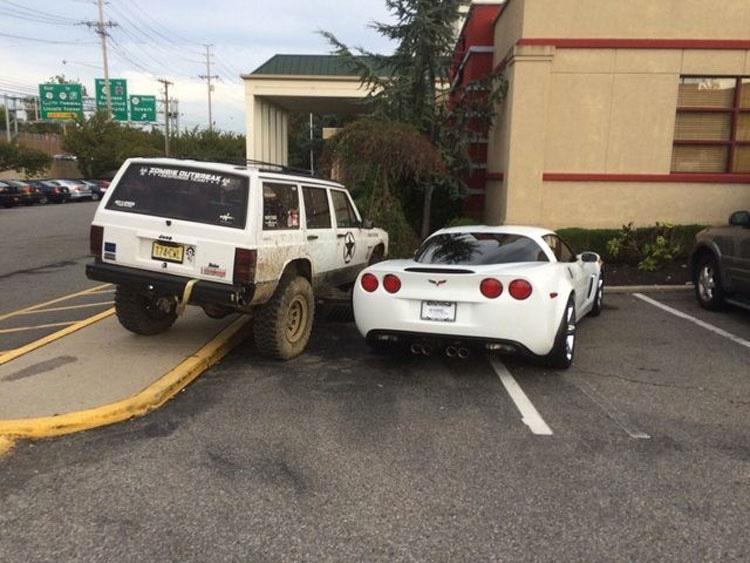 20 personas que aprendieron de una forma dura que tienen que dejar el parking. ATENCIÓN a la última venganza 6