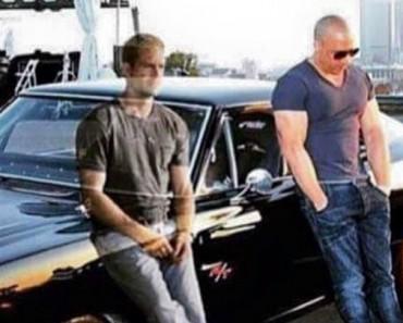 """Esta foto del """"fantasma"""" de Paul Walker con Vin Diesel se ha hecho viral"""