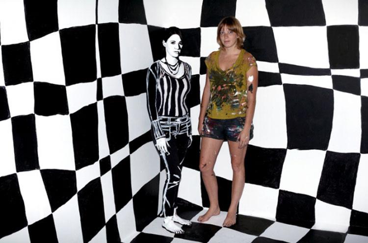 ASOMBROSAS pinturas hechas con... ¡Humanos reales!
