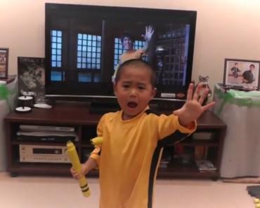 ¿Es este niño de 5 años la reencarnación de Bruce Lee? ¡TIENES que verlo!