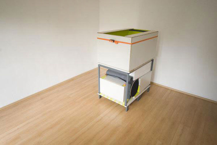 Esta sencilla caja oculta un dormitorio COMPLETO en su interior y es ALUCINANTE